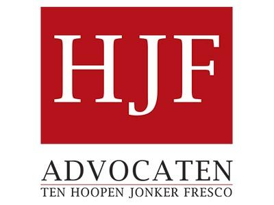 Logo HJF Advocaten 40x40mm
