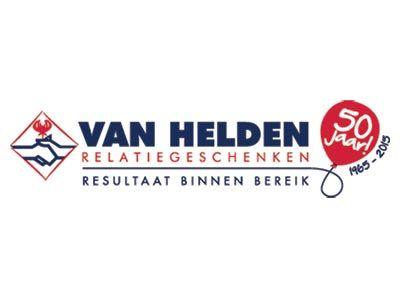 VH14 Van Helden relatiegeschenken logo blauw liggend PMS 50 jaar v4